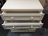 Pale cream drawers