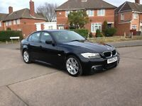 Bmw 318d M-Sport 2009/59 FSH/9 dealer stamps 6 speed manual 141bhp 2-owners £5750