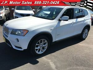 2013 BMW X3 28i, Automatic, Leather, Panoramic Sunroof, AWD