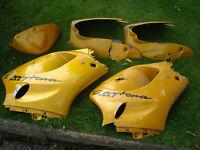 Triumph Daytona 955i Damaged Repairable Bodywork