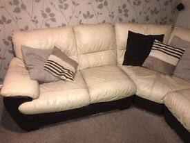 Leather Corner Sofa And More
