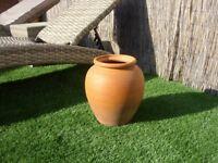 One Terracotta Garden Planter