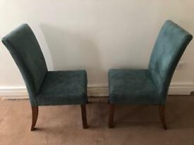 Two living room chairs - MUST GO TOMORROW BY NOON