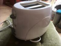Toaster - White Two Slice