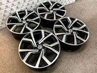 """BRAND NEW 18"""" 19"""" VW GTI CLUB SPORT STYLE ALLOY WHEELS - ALSO AVAILABLE WITH TYRES - 5 x 112"""