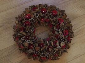 Festive Flower Wreath