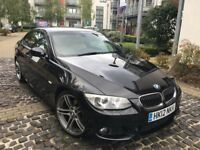 BMW 3 Series coupe M Sport Edition E92 320d Black Sat Nav 2012 LCI