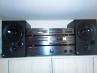 ROTEL CD player,Amplifier,Tuner and KEF CODA 8 speakers