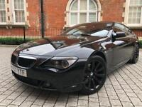 BMW 6 Series 3.0 630i Sport 2dr** HUGE SPEC ** 46,000miles ONLY*** PX WELCOME not 645ci 630d