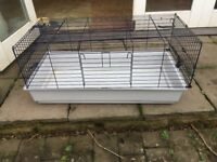 Guineapig Hutch (indoor) 1m x 30cm x 50cm approx