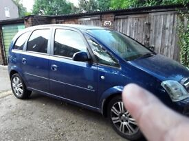Vauhall meriva full service history fully loaded covert to van for removal mot fully loaded