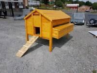 Ex large 20 bird wooden hen ark