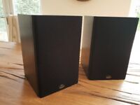Gale Silver Monitor bookshelf speakers