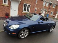 Lexus sc430 convertible, all the extras, long mot full history HPI clear