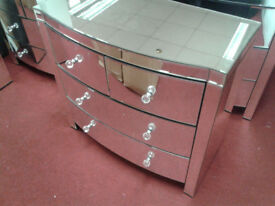 Heart of House Canzano 4 Drawer Mirrored Chest