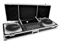 DJ Flightcase for 2 turntables and a mixer