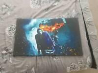 Batman Dark Knight canvas poster