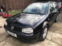 2002 Volkswagen Golf Tdi Se 130bhp 1.9 Diesel estate