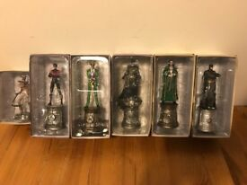 Batman Eaglemoss Chess Figures - Excellent condition in boxes