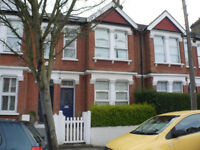 Spacious three double bedroom three-bathroom split level flat with separate fully fitted kitchen