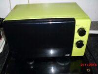 lime green microwave