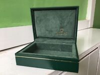 Vintage Rolex Watch Box - Mint Condition