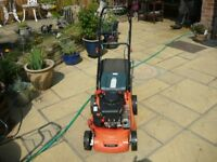 Sovereign self propelled petrol mower