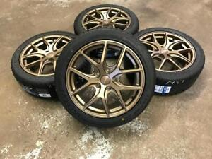 "17"" Bronze Wheels with 225/45ZR17 Sailun Atrezzo Tires  (Japanese Vehicles) Calgary Alberta Preview"
