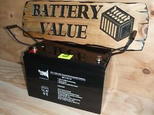 Deep Cycle AGM Battery  2yr Warranty **10% Price Beat Guarantee** Everton Hills Brisbane North West Preview