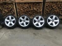 "18"" Audi rs6 alloys s-line alloy wheels 5x112, a3, a4, a6, a8, vw golf, Passat, Jetta, caddy, Skoda"