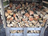 Dry logs, firewood, hardwood