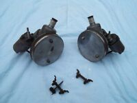 "Classic Mini twin SU 1 1/4"" carbs & linkages."