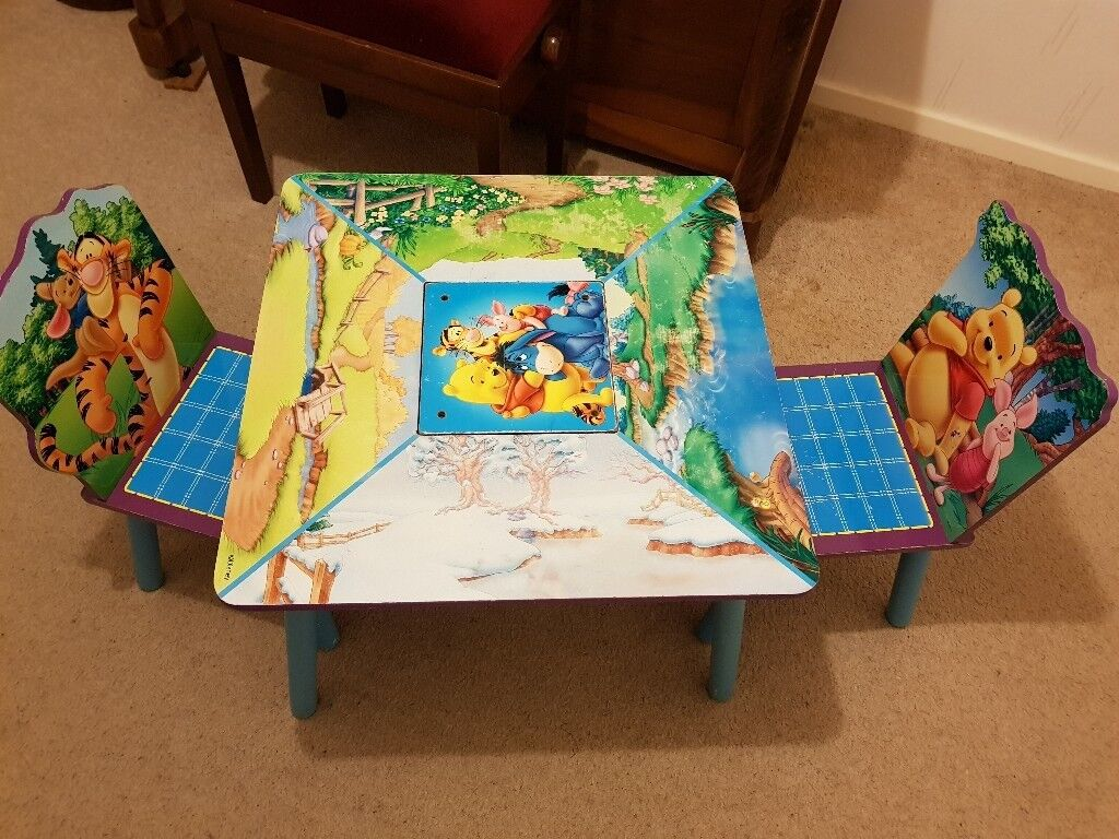 Astounding Childrens Table Chairs Kids Wooden Disney Set With Removal Legs For Easy Storage Vgc In Letchworth Garden City Hertfordshire Gumtree Evergreenethics Interior Chair Design Evergreenethicsorg