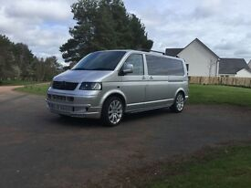 Vw transporter camper van just finished
