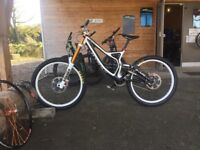 Specialized demo 8 carbon downhill bike (M) 203/14