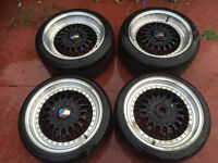 Genuine Konig BMW rims staggered