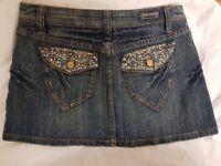 Ladies designer demin Skirt