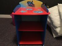 Thomas the tank engine bedside table/ book case