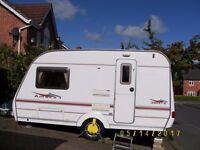 Coachman 380/2 ,2005, 2 Berth Caravan with Motor Mover