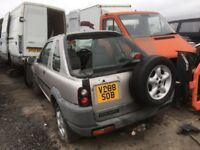 Land Rover Freelander spare parts available