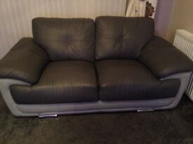 2&3 Seater Faux Leather Sofas