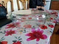 Large pyrex casserole dish
