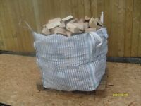 X1 Jumbo sack of fully seasoned hardwood And Softwood Logs