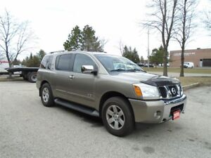 2006 Nissan Armada 7 passenger, Heated leather front seats, Auto