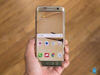 Gold Samsung s7 Edge Unlocked