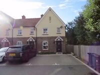 A 3 bedroom 2 bathroom modern end of terraced house with parking and garden in Hunsdon Herts nr Ware
