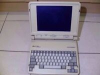 Zenith Data Systems Vintage Collectible Laptop PC Computer. Supersport Not i3 i5 i7