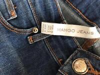 MANGO jeans size 6-8