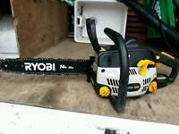 """Ryobi 14"""" bar chainsaw"""