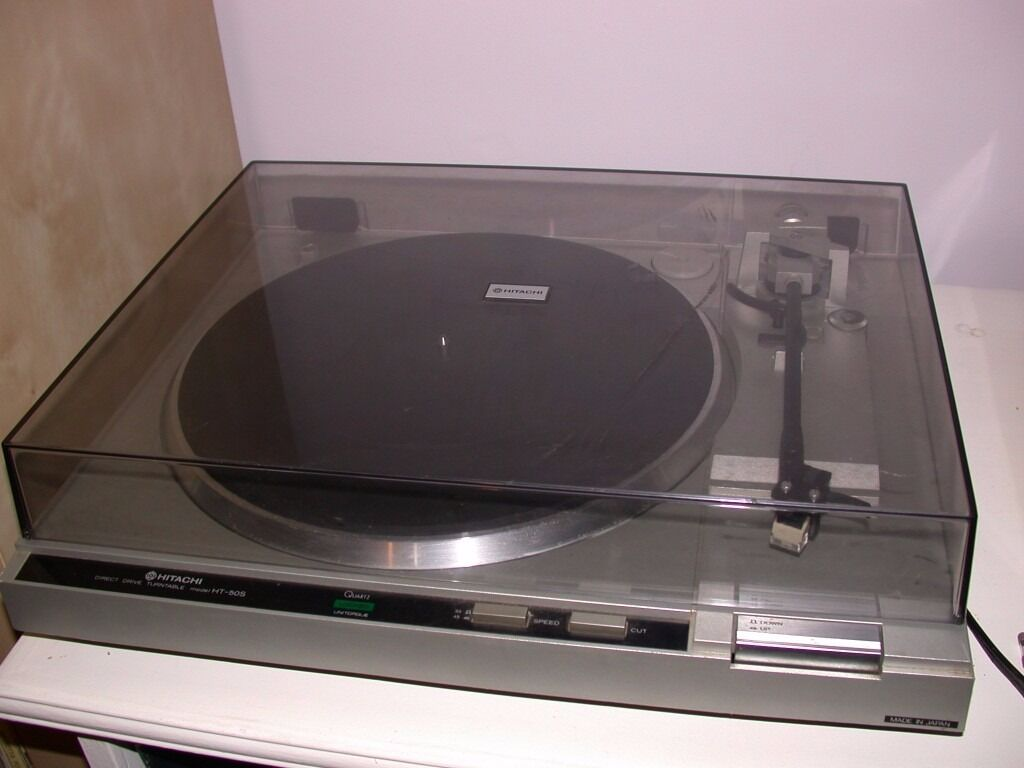 Hitachi ht 50s direct drive turntable in louth lincolnshire